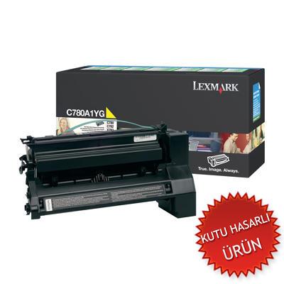 LEXMARK - Lexmark C780A1YG Sarı Orjinal Toner (C)