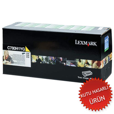 LEXMARK - Lexmark C780H1YG Sarı Orjinal Toner (C)