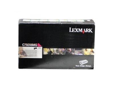 LEXMARK - Lexmark C792X6MG Kırmızı Orjinal Toner Yüksek Kapasite