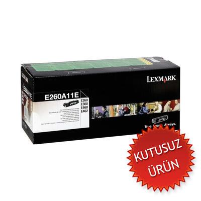 LEXMARK - Lexmark E260 E260A11E Siyah Orjinal Toner (U)