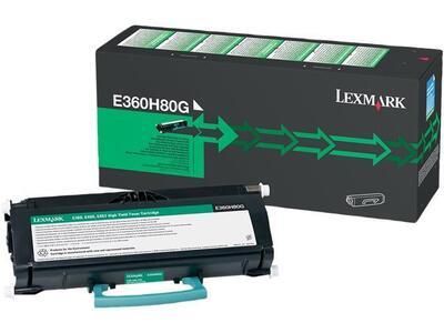 LEXMARK - Lexmark E360H80G Yüksek Kapasite Siyah Orjinal Toner - E360d / 460dw