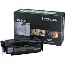 LEXMARK - LEXMARK T430 12A8420 ORJİNAL SİYAH TONER