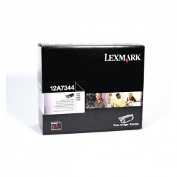 LEXMARK - LEXMARK T520 12A7344 SİYAH ORJİNAL TONER T522-X520-X522