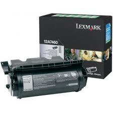 LEXMARK - LEXMARK T630 12A7460 SİYAH ORJİNAL TONER