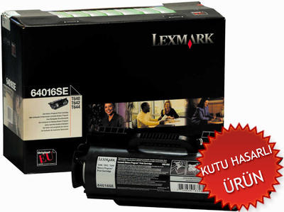LEXMARK - Lexmark T640-T642-T644 64016SE Orjinal Toner (C)