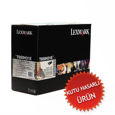LEXMARK - Lexmark T650 T650H31E Siyah Orjinal Toner - Yüksek Kapasiteli (C)
