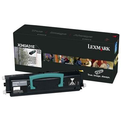 LEXMARK - Lexmark X340A31E Siyah Orjinal Toner - X340 / X342