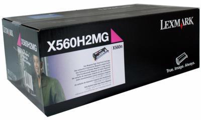 LEXMARK - LEXMARK X560H2MG KIRMIZI ORJİNAL TONER 10.000 Sayfa