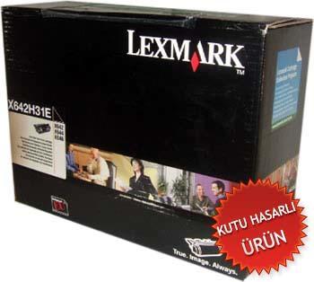 LEXMARK - LEXMARK X642H31E ORJİNAL TONER (C)