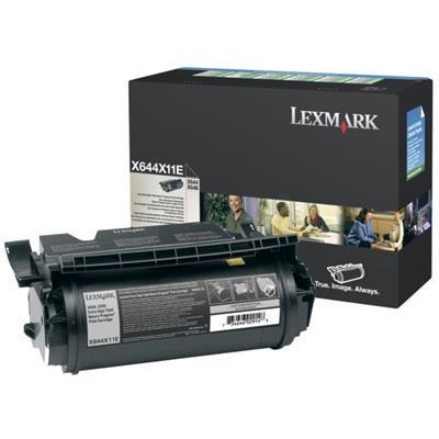 LEXMARK - Lexmark X644X11E Siyah Orjinal Toner Ekstra Yüksek Kapasite - X644 / X646