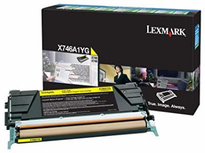 LEXMARK - LEXMARK X746A1YG SARI ORJİNAL TONER X746 / X748