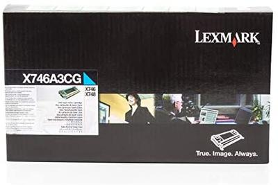 LEXMARK - Lexmark X746A3CG Mavi Orjinal Toner X746DE / X748DE / X748DTE