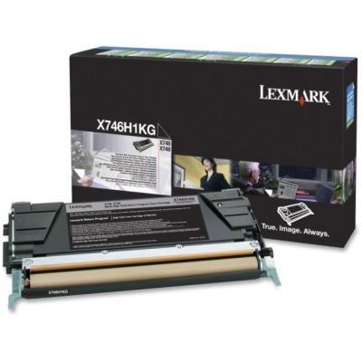 LEXMARK - LEXMARK X746H1KG SİYAH ORJİNAL TONER X746 / X748