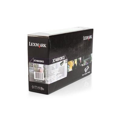 LEXMARK - Lexmark X746H3KG Siyah Orjinal Toner X746 / X748
