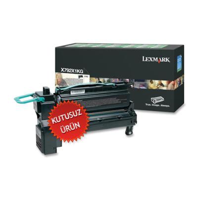 LEXMARK - LEXMARK X792X1KG SİYAH ORJİNAL TONER (U)