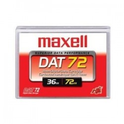 SONY - MAXELL DAT-72 4mm 170m DDS5 36GB / 72GB DATA KARTUŞ