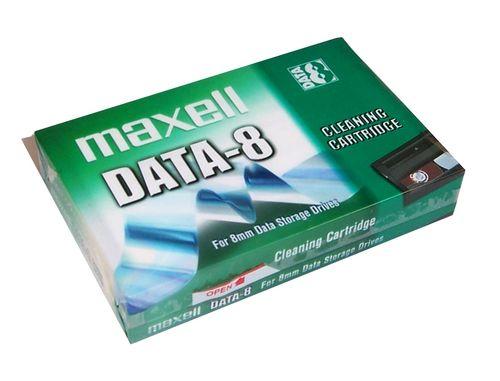 Maxell DATA-8 8mm Temizleme Kartuşu (Cleaning Tape)