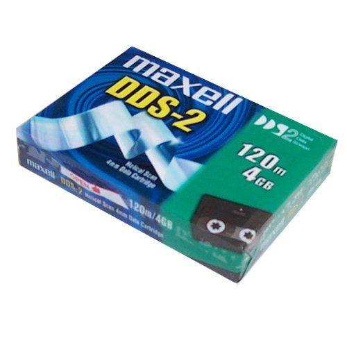 Maxell DDS2, 4Gb/ 120m, 4mm, Data Kartuş