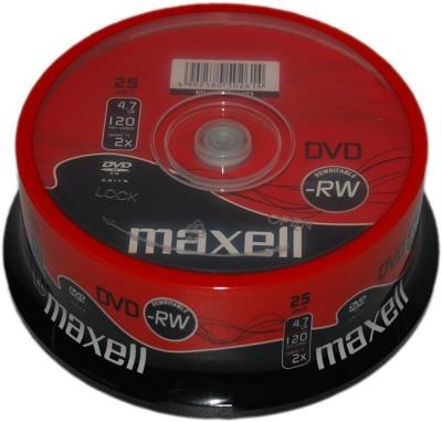 SONY - MAXELL DVD-RW 4.7 GB 25li PAKET CAKEBOX (275894)