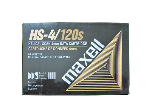 MAXELL HS4-120S, DDS2, 4GB/8GB, 120m, 4mm Data Kartuşu