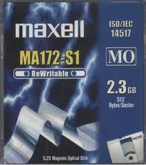 SONY - Maxell MA172-S1 (2.3 GB) (624110) 512 Bytes Orjinal Data Kartuşu