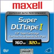 MAXELL SUPER DLT 160 / 320 GB DATA KARTUŞU 183700 SDLT-220