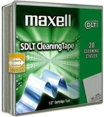 SONY - MAXELL SUPER DLT SDLT TEMİZLEME KARTUŞU (Cleaning Tape)