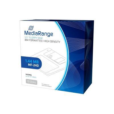 MEDİARANGE - MEDİARANGE MF2HD Disket - IBM Formatted Floppy Disc (1.44MB) FLOPPY DISK - IBM Biçimlendirilmiş Disket 10LU Paket