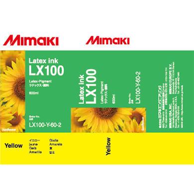 MIMAKI - Mimaki LX100-Y-60 Sarı Orjinal Lateks Mürekkep JV400-130LX , JV400-160LX