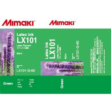 Mimaki LX101-G-60 Yeşil Orjinal Lateks Mürekkep JV400-130LX , JV400-160LX