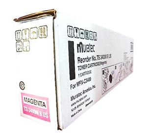- Muratec TS3400M Kırmızı Orjinal Toner MFX-C3400 10,000 Sayfa