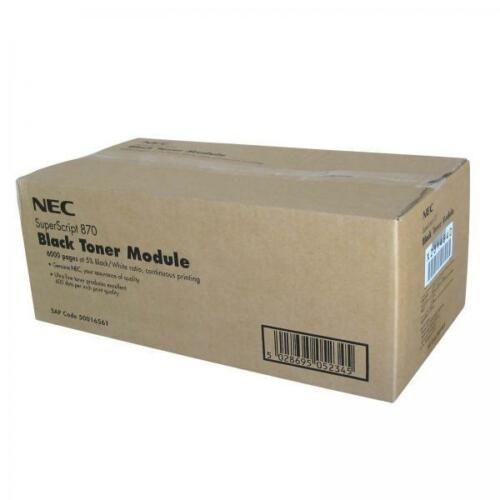 NecSuperscript 870 Siyah Orjinal Toner Modülü (50016561)