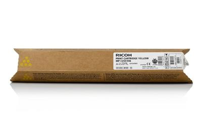 RICOH - NRG MP-C2051 / MP-C2551 Sarı Orjinal Toner Yüksek Kapasite (841507)