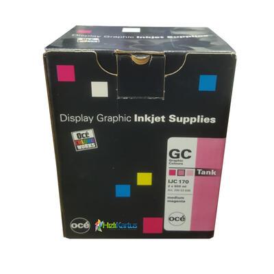 OCE - Oce IJC 170 2'li Paket Orta Kırmızı Mürekkep Kartuşu - CS-5050/CS-5070/CS-5090