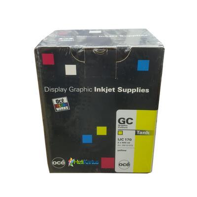 OCE - Oce IJC 170 2'li Paket Sarı Mürekkep Kartuşu - CS-5050/CS-5070/CS-5090