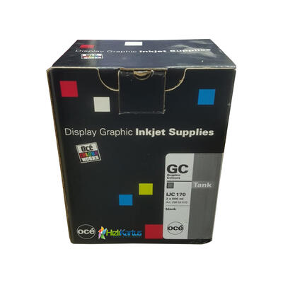 OCE - Oce IJC 170 2'li Paket Siyah Mürekkep Kartuşu - CS-5050/CS-5070/CS-5090