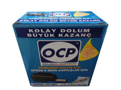 OCP - Ocp (Epson) 6 Renk Mürekkep Dolum Seti