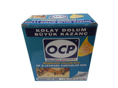 OCP - Ocp(Hp & Lexmark) 4 Renk Mürekkep Dolum Seti
