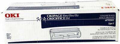 OKI - OKI 40709901 Siyah Orjinal Drum Ünitesi Type 6 - OKIOFFICE 84 / 87