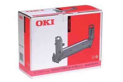 OKI - OKI 41304110 Type C2 Kırmızı Drum Ünitesi C7000, C7200, C7400