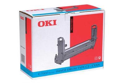 OKI - OKI 41304111 Type C2 Mavi Drum Ünitesi C7000, C7200, C7400