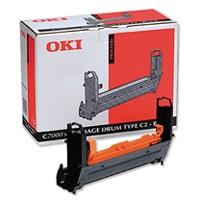 OKI - OKI 41304112 TYPE C2 SİYAH DRUM - C7000/C7200/C7400 DRUM ÜNİTESİ