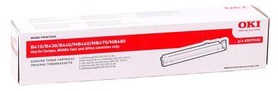 OKI - OKI 43979102 Orjinal Toner B410 / B430 / B440 / MB470