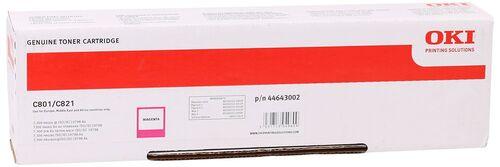 Oki 44643002 Kırmızı Orjinal Toner - C801 / C821