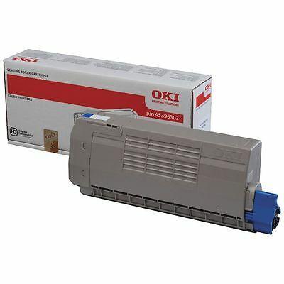 OKI - OKI 45396303 Mavi Orjinal Toner MC760 / MC770 / MC780