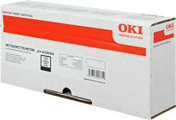 OKI 45396304 MC760 / MC770 / MC780 Siyah Orjinal Toner
