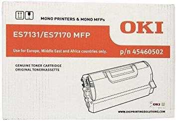 OKI - OKI 45460502 ES7131 / ES7170 / ES7180 SİYAH ORJİNAL TONER