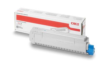 OKI - Oki 45643511 Mavi Orjinal Toner - ES9465 / ES9475