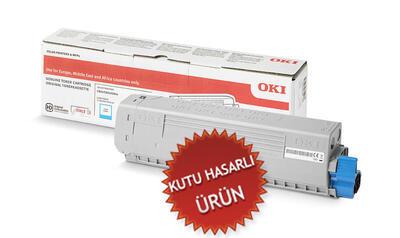 OKI - OKI 46471107 Mavi Orjinal Toner C823 / C833 / C843 (C)