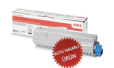 OKI - OKI 46471108 Siyah Orjnal Toner - C823 / C833 / C843 (C)